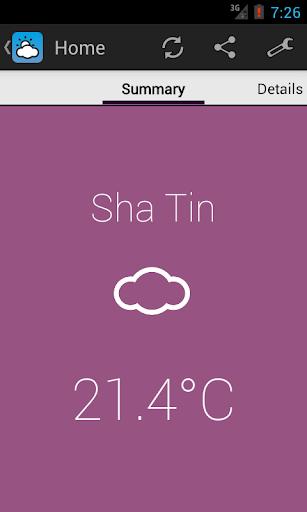【免費天氣App】Simple HK Weather (香港天氣)-APP點子