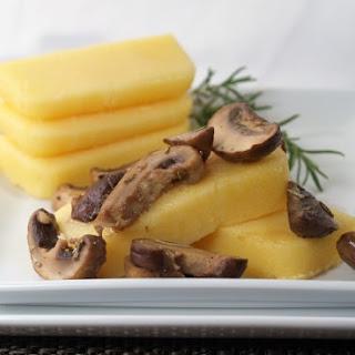 Polenta with Mushroom Medley