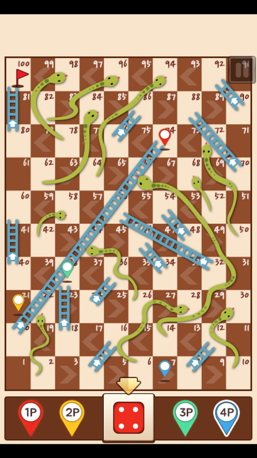 Snakes-Ladders-King 34