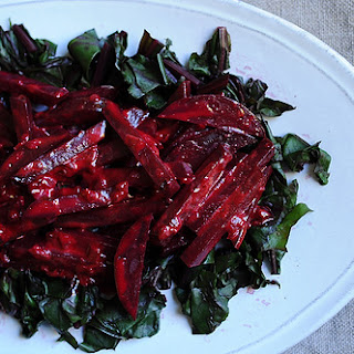 Beets in Lime Cream.