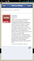 Screenshot of Kamus Besar Bahasa Indonesia