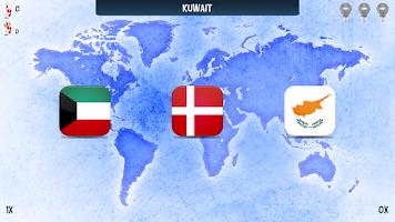 Screenshot of Quiz - Attractive Flags