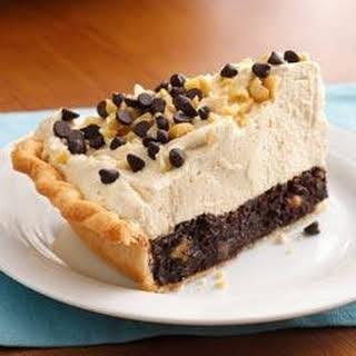 Mile-High Peanut Butter-Brownie Pie.