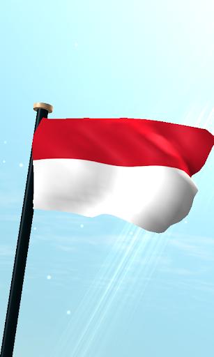 印尼旗3D免費動態桌布