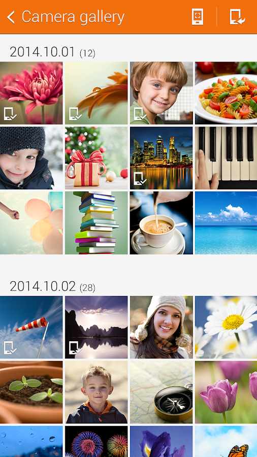 Samsung Camera Manager Inst.- screenshot