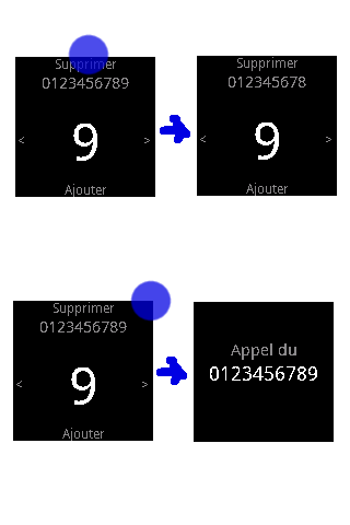 Dialer Plugin for LiveView - screenshot
