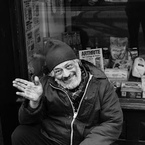 An epic smile by this good old man, by Faisal Abuhaimed - People Street & Candids (  )