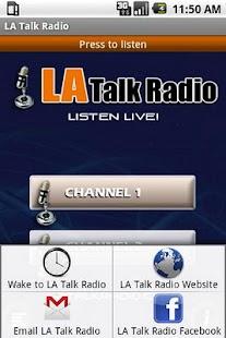 LA TALK RADIO LIVE- screenshot thumbnail