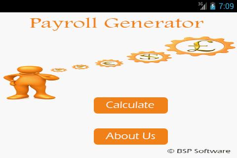 Pay Roll Generator Lite