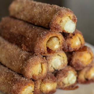 Cinnamon Cream Cheese Roll Ups.