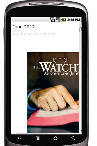 Watchtower Jehovah's Witnesses - screenshot