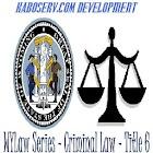 WYLaw - Criminal Law - Title 6 icon