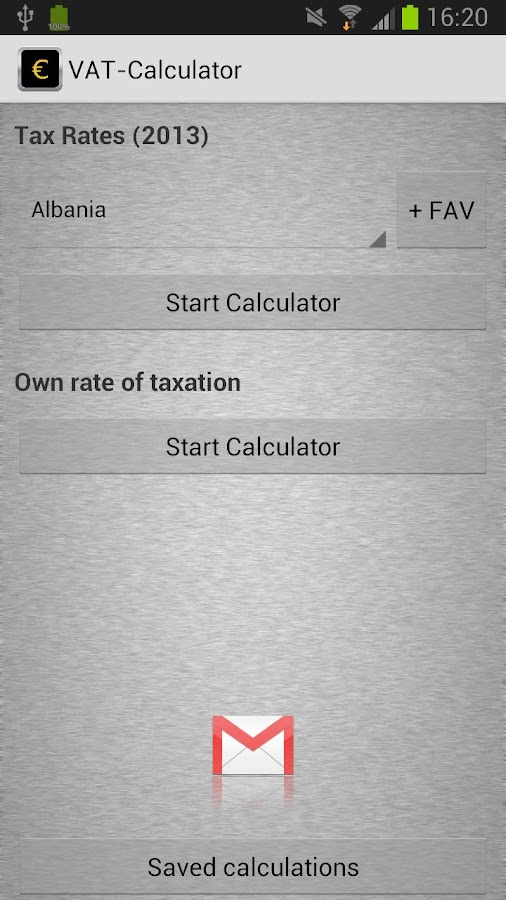 Spicy VAT - Calculator- screenshot