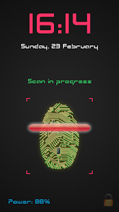 Unlock With Fingerprint PRANK- screenshot thumbnail