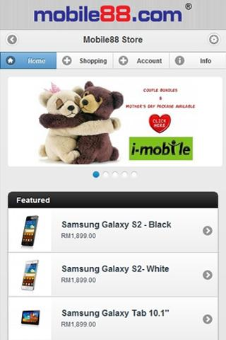 store.mobile88.com - screenshot