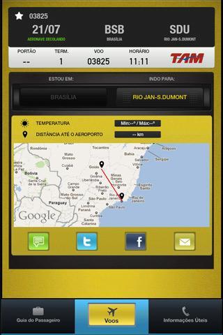 Infraero Voos Online - screenshot