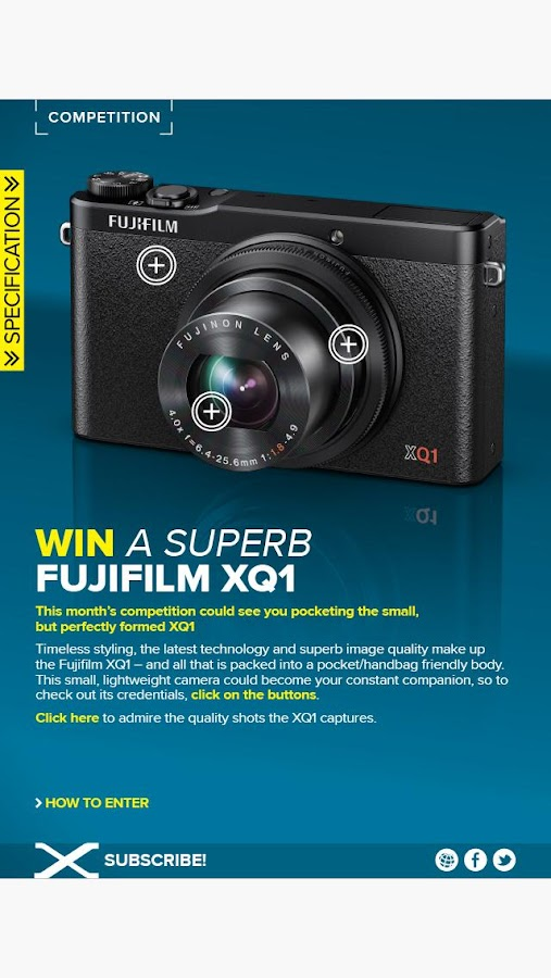 Fujifilm X Magazine - screenshot