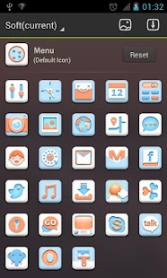 Soft - GO Launcher EX Theme - screenshot thumbnail