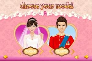 Screenshot of Dress Up - Wedding