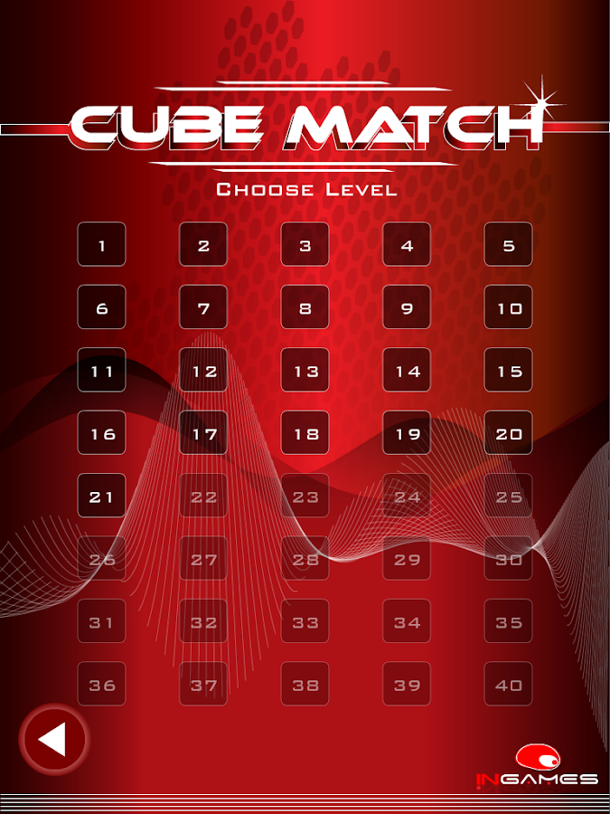 Cube Match Free - 7 games in 1 - screenshot