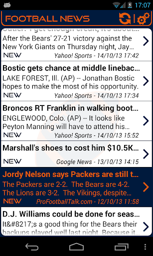 Chicago Football News