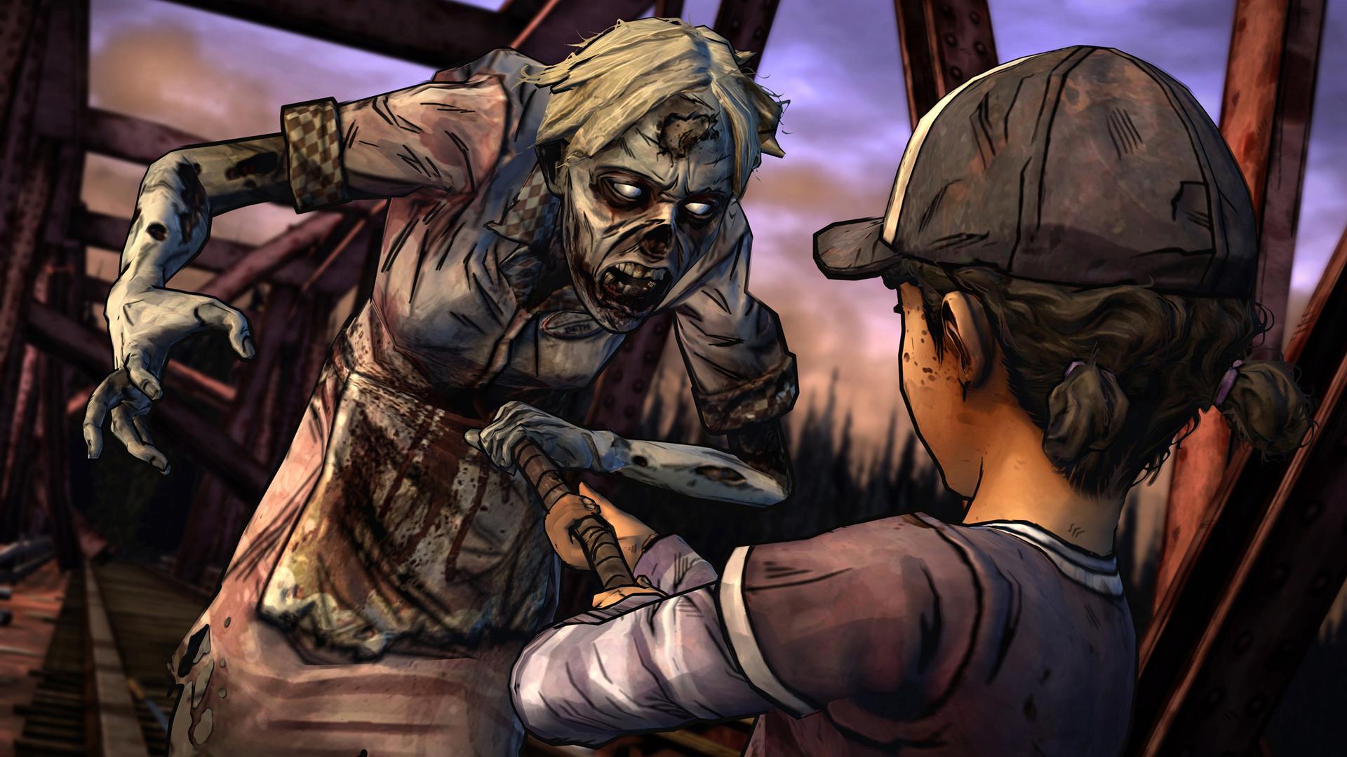 The Walking Dead: Season Two screenshot #14