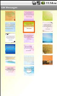 Hindi Good Morning Messages screenshot