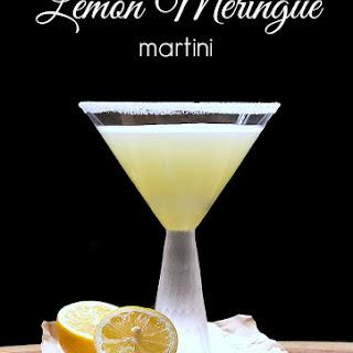 Lemon Meringue Martini.