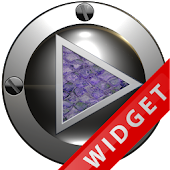 Poweramp Widget Purple Snake