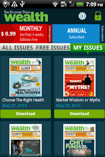 The Economic Times Wealth- screenshot thumbnail