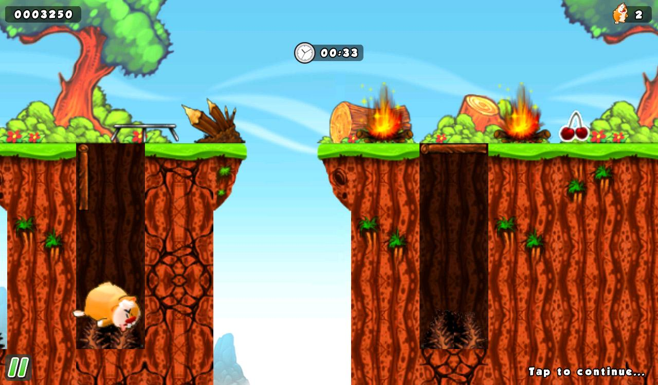 Crazy Hamster Free- screenshot