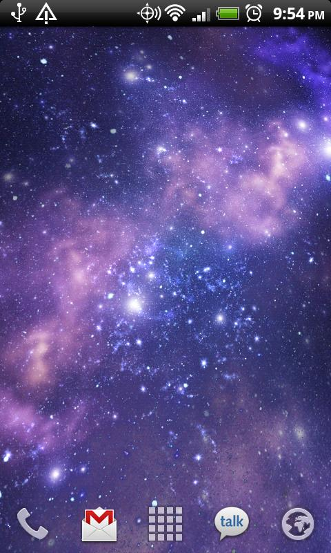Galactic Core Live Wallpaper - screenshot