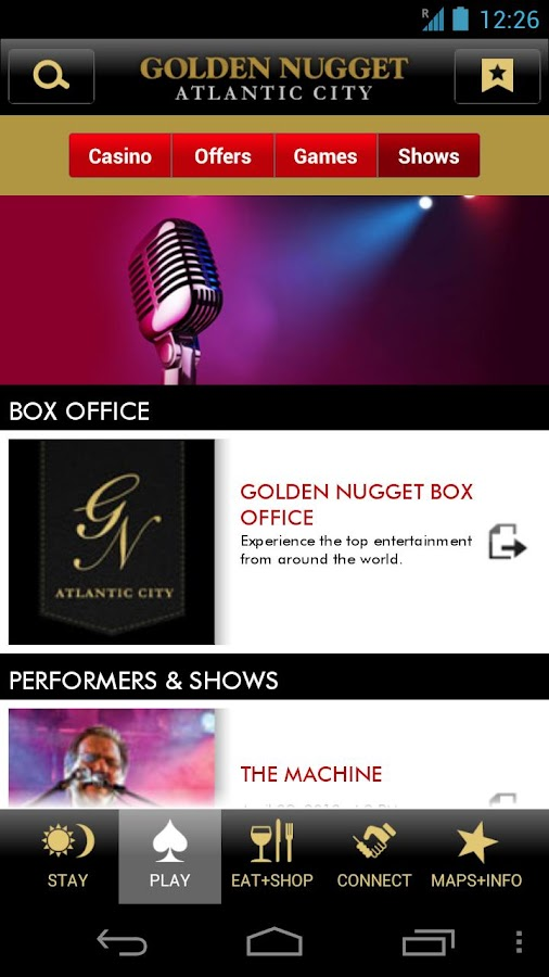 Golden Nugget Atlantic City - screenshot