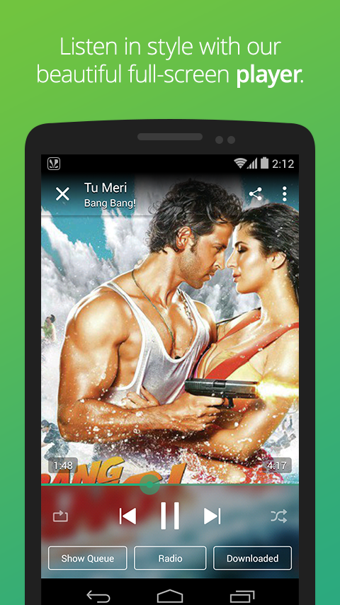 Saavn: Hindi & Bollywood Songs - screenshot