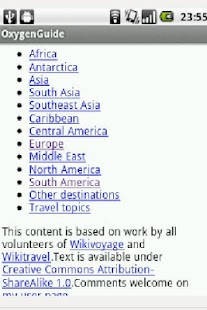 Wikivoyage offline travelguide - screenshot thumbnail