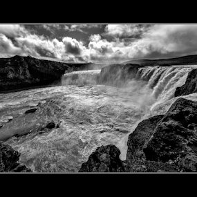 by Kevin Denton - Landscapes Waterscapes ( iceland, black and white,  )