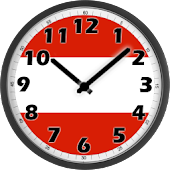 Austria Clock