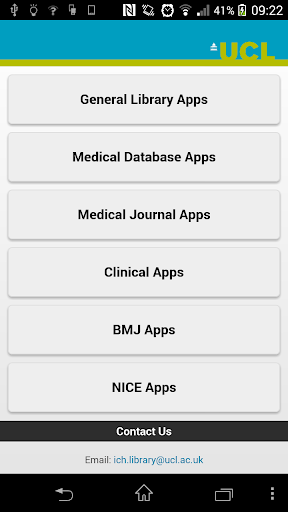 ICH Medical App Library