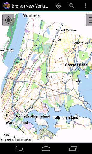 Bronx Offline City Map