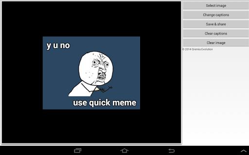 Quick Meme