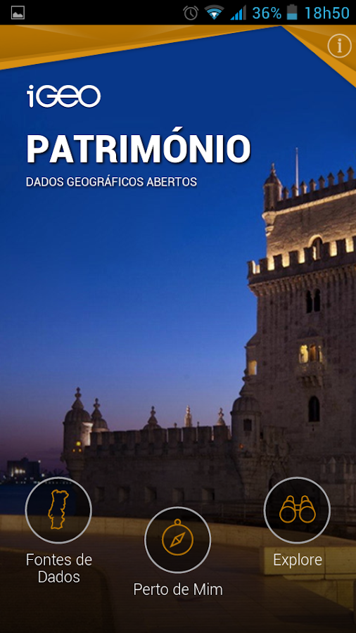 iGeo Património- screenshot