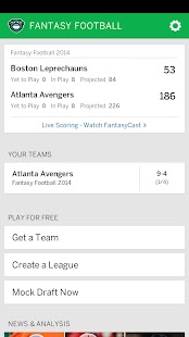 ESPN Fantasy Football- screenshot thumbnail