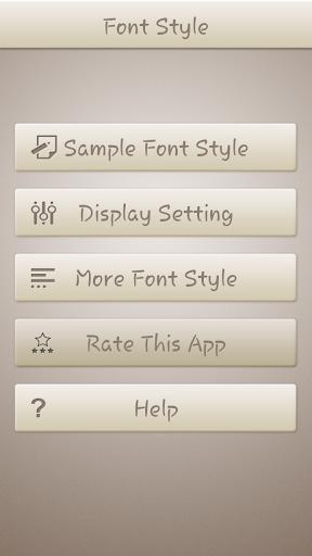 Kabel Font Style
