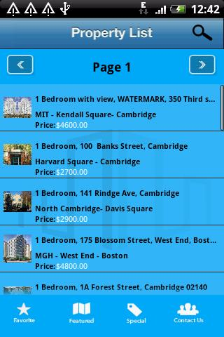 Boston and Cambridge Furnished - screenshot