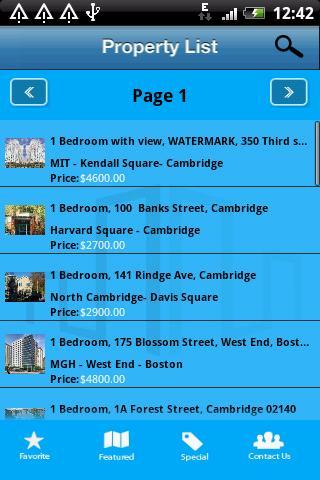 Boston and Cambridge Furnished - screenshot