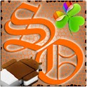 GOWidget SunsetOrange ICS-Paid logo