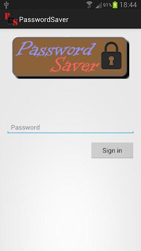 PasswordSaver