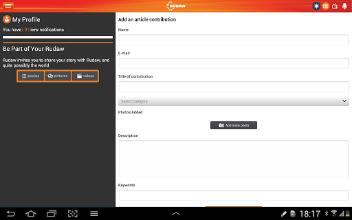 免費下載新聞APP|Rudaw for Tablet app開箱文|APP開箱王