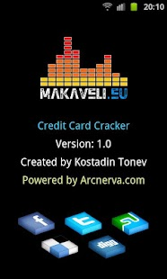 Credit Card Cracker - screenshot thumbnail
