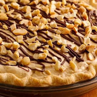 Creamy Cashew Turtle Pie.